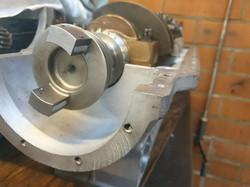 Crankshaft in a crankcase
