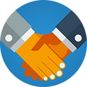 Business partnership free vector icons d