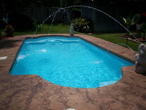 Fiberglass Pool Pearland - Houston TX- S