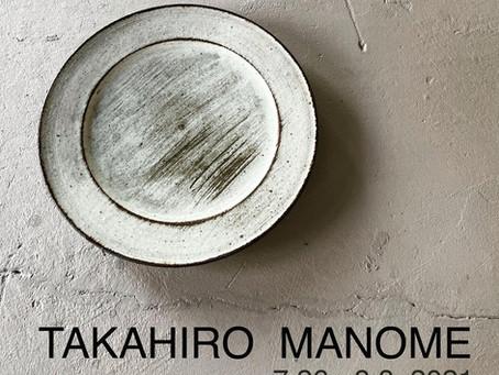 7/26~8/8 TAKAHIRO MANOME
