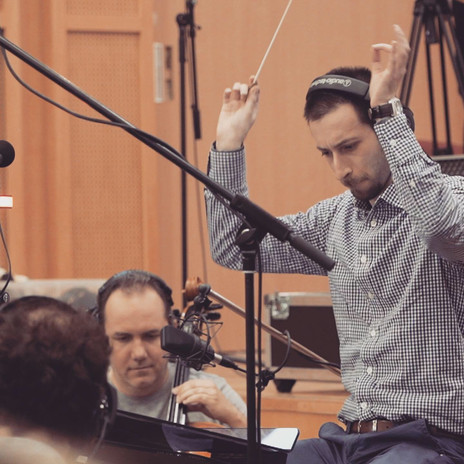 Conducting at TomTom Studio