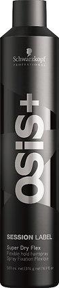 Schwarzkopf OSIS+ Session Label Super Dry Flex Hairspray 300ml