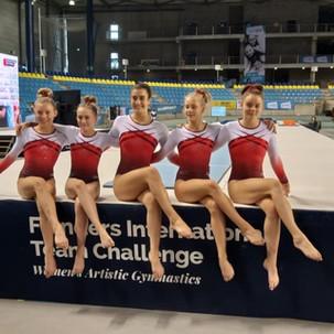 Lilia Rief beim Wettkampf in Flanders (BEL)