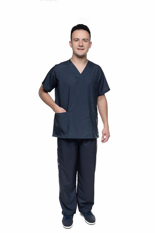 Conjunto (Blusa e Calça) Preto VM026 Ganha nome e profissao