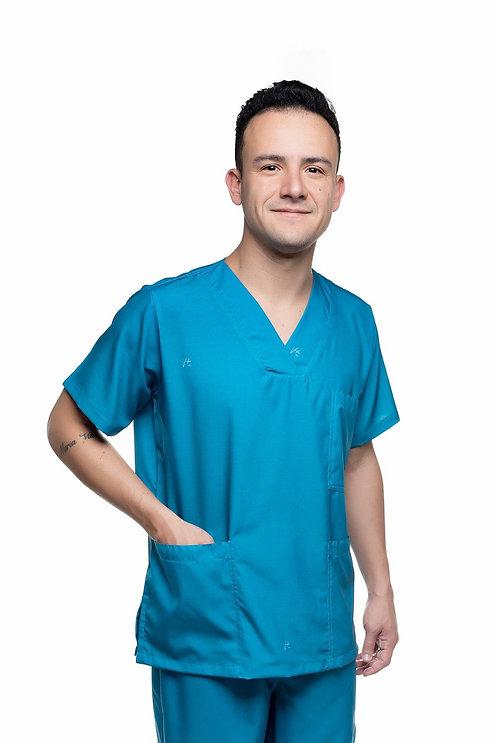 Blusa cirúrgica/Scrub Liso 001 Pronta Entrega T: 1GG 1EG
