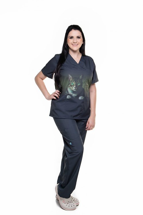 Cunjunto Pijama Cirúrgico Degradê 049