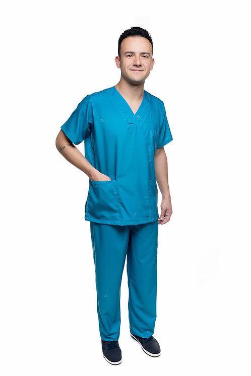 Conjunto (Blusa e Calça) Liso 001 Ganha 1 Mascara e Nome/Profissão