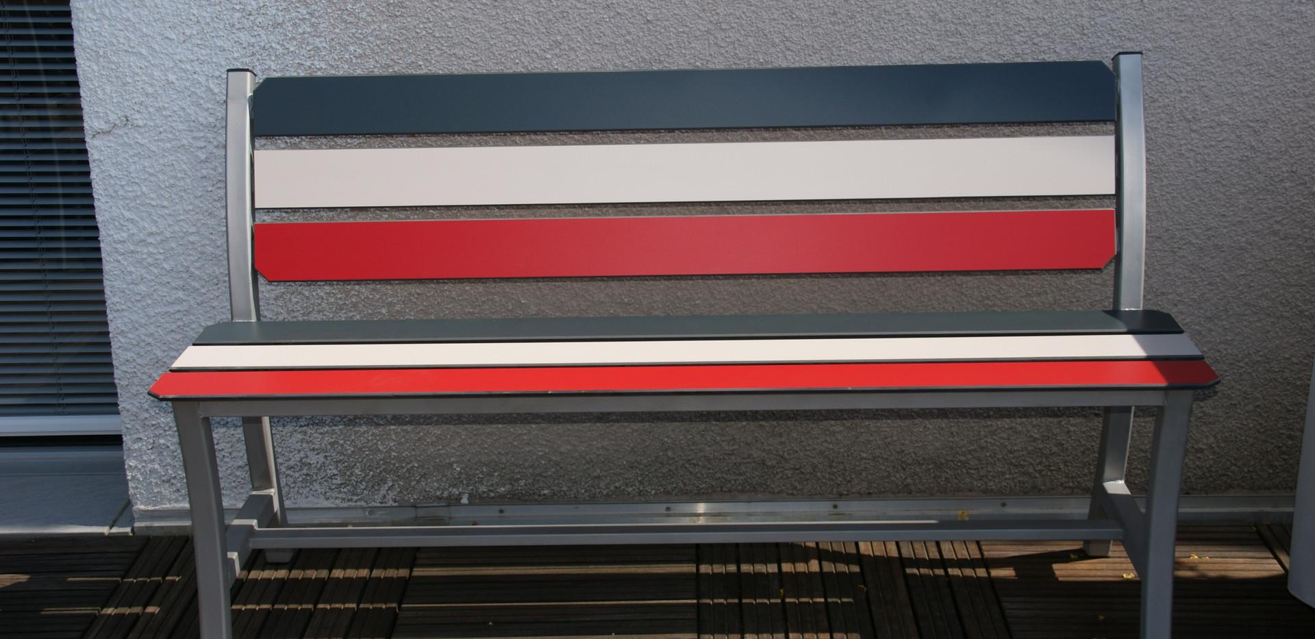 Banc tri-color