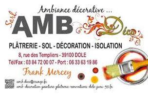 Journées de l'Habitat - Exposant - Peinture - AMB Déco