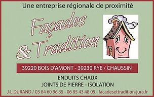 Journées de l'Habitat - Exposant - Façades - Façades et tradition