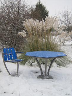 Table inox hexagonale hiver.jpg