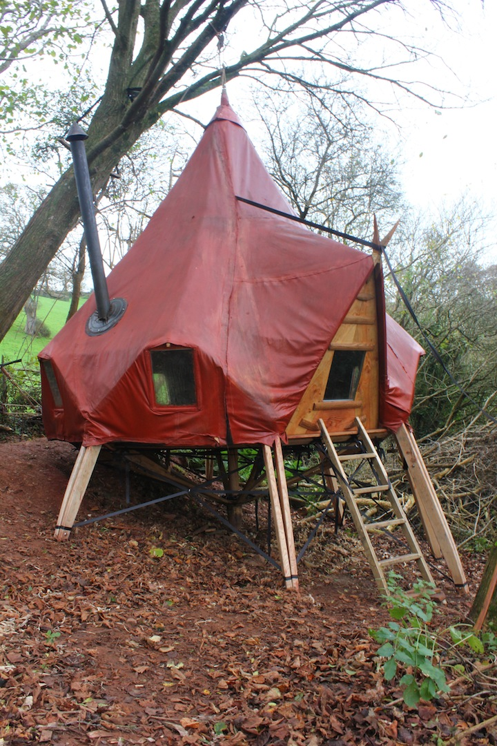 Autumn Octopod Glamping Pod