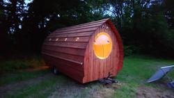 Apricot Pod Glamping Pod