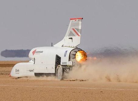 Carro movido a hidrogênio pode quebrar recorde de velocidade em terra