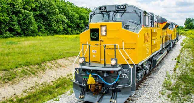 O aditivo ao contrato também prevê a construção de um trecho ferroviário entre Cariacica e Anchieta (ES) (Imagem: Progress Rail/Divulgação)