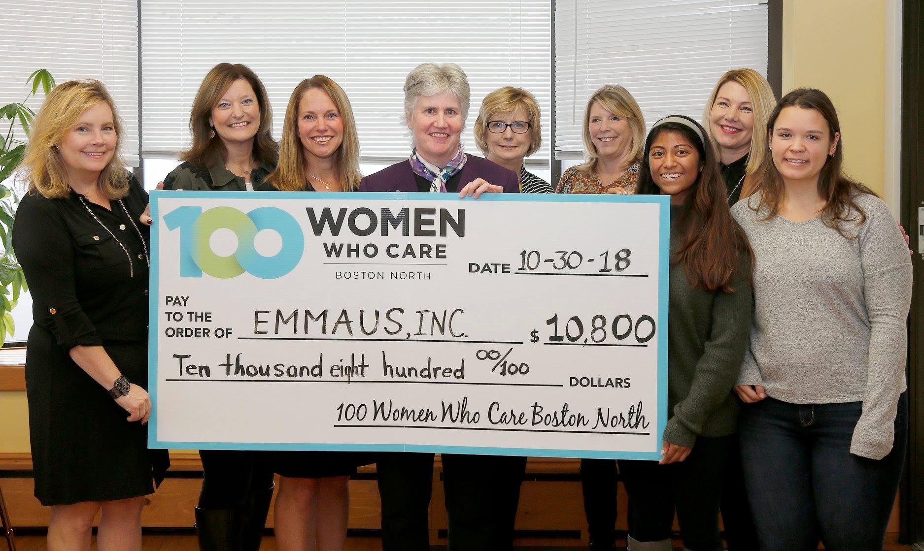 Emmaus, Inc., September 2018. Nominating Member: Suzanne Miller