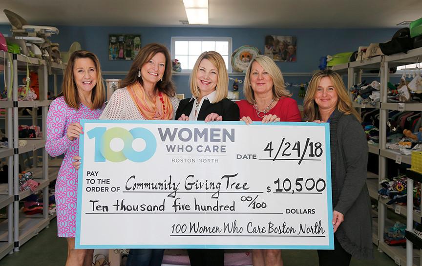 Community Giving Tree, March 2018. Nominating Member: Lisa Brennan.