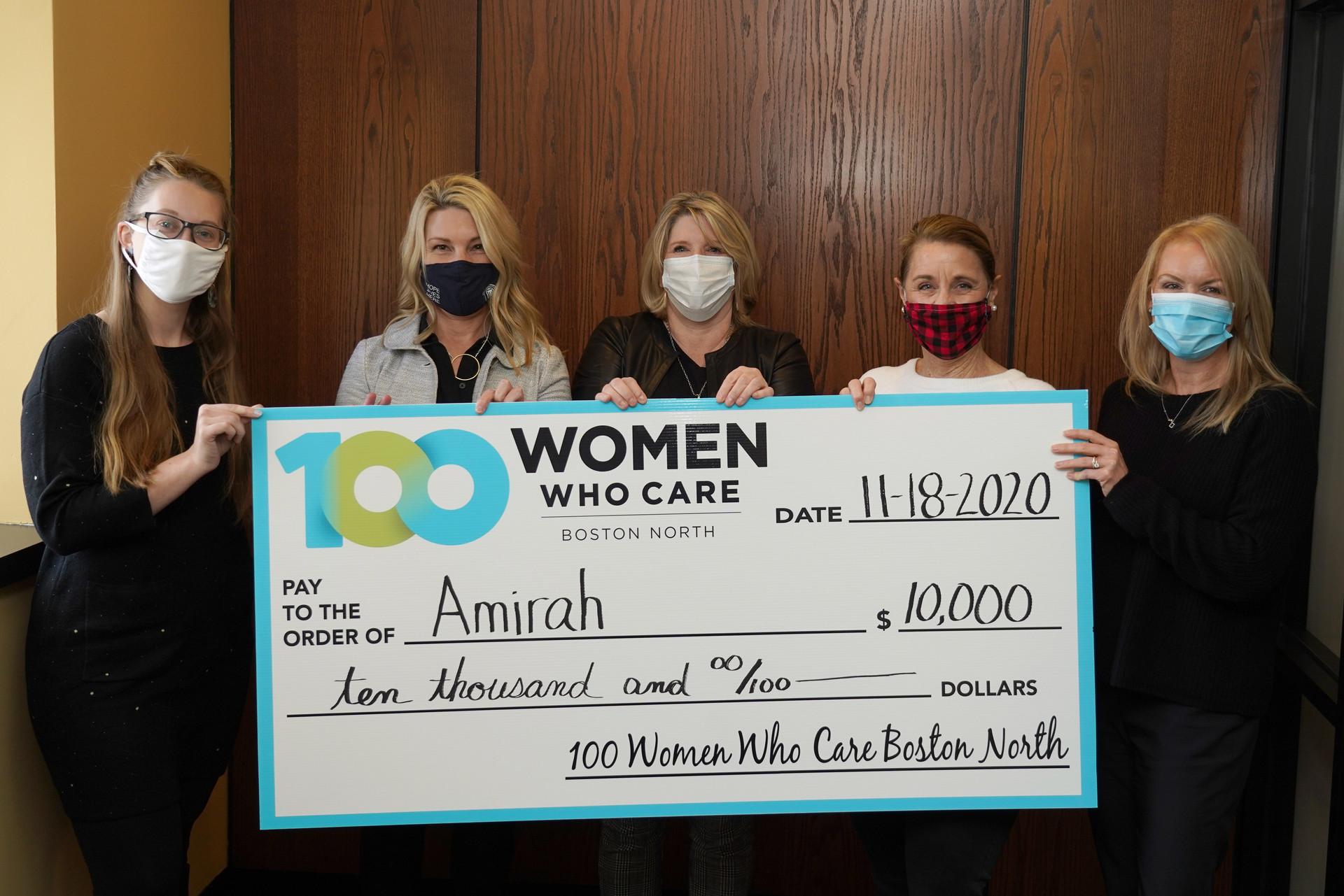 Amirah, Inc., September 2020. Nominating Member: Margaret Mulligan