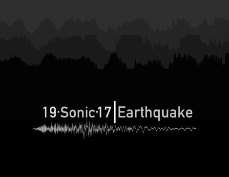 "Inauguración ""19.Sonic.17 I Earthquake"""