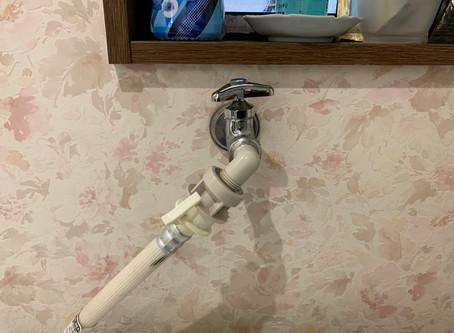 洗濯機蛇口水漏れ修理