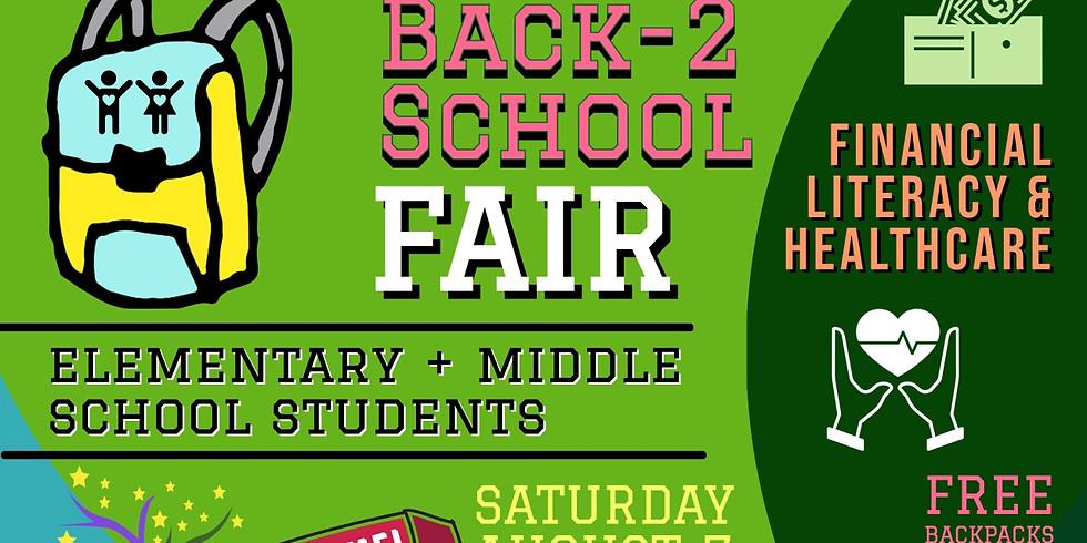 Back 2 School Financial Literacy & Healthcare Fair