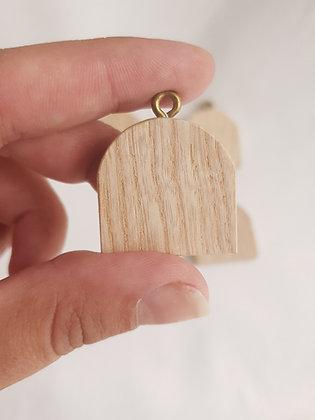 Mini deseczka-zawieszka, niezagruntowana