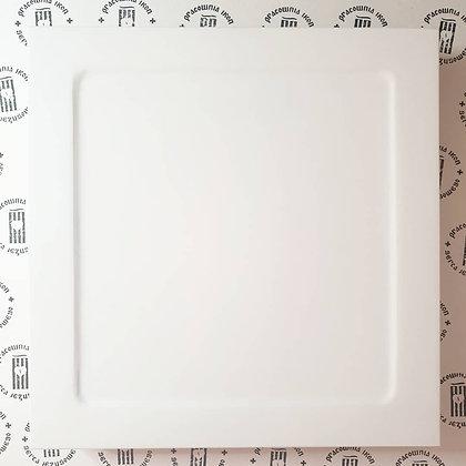 Deska kwadratowa zagruntowana z kowczegiem i szpongami