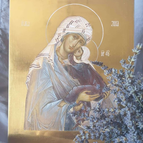 Ikona świętej Anny z dzieckiem Maryją