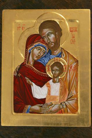 Ikona Św. Rodziny- Domowy Kościół
