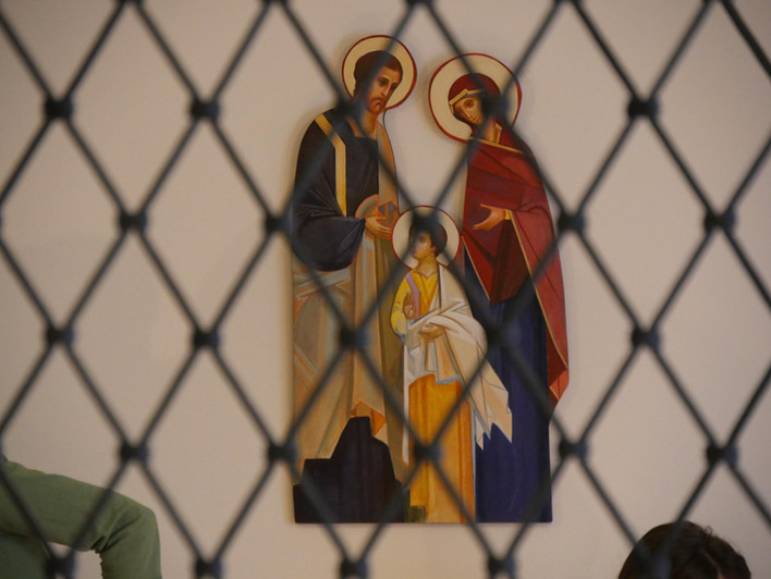 Ikona św. Rodziny z Karmelu w WItynach