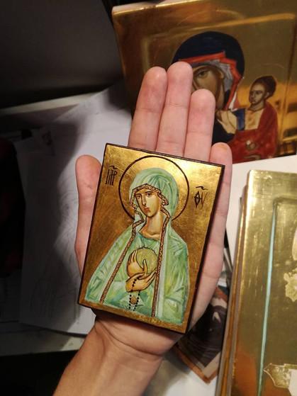 Ikona Matki Boskiej Fatimskiej mini