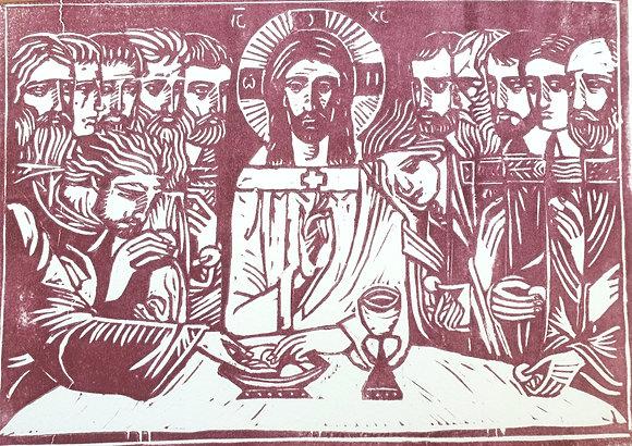 Linoryt Ustanowienie Eucharystii