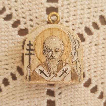 Miniikona św Grzegorz