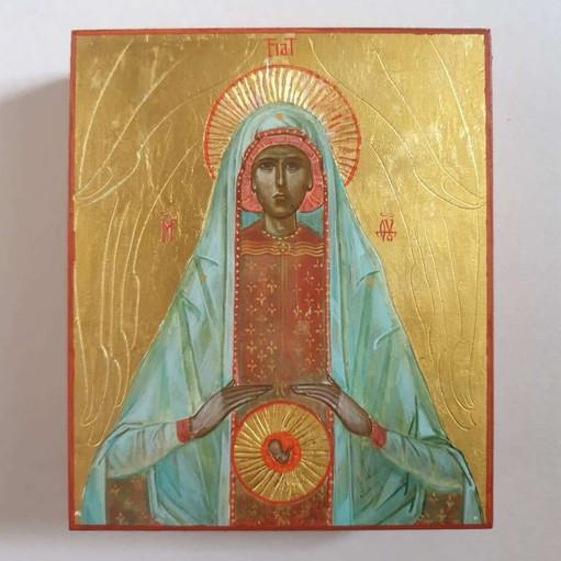 Ikona Matki Boskiej Ochrony życia poczętego