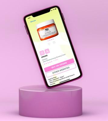 Beauty App UX/UI Design
