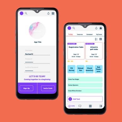 Productivity App UI Design