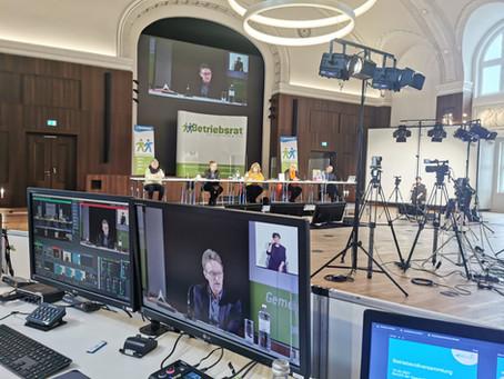 Virtuelle Betriebsversammlung
