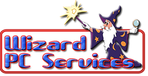 Wizard PC Servces logo