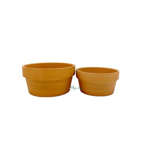 Wide Terracotta Clay Pot