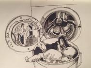Day 19/2017: Baby Billy and washing machine