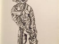 Day 27/2017: Mummified zombie boy