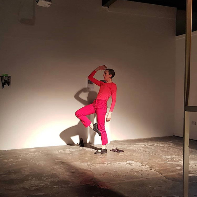 Performance of Conversations With Myself at Mind Breath Beat opening night..jpg