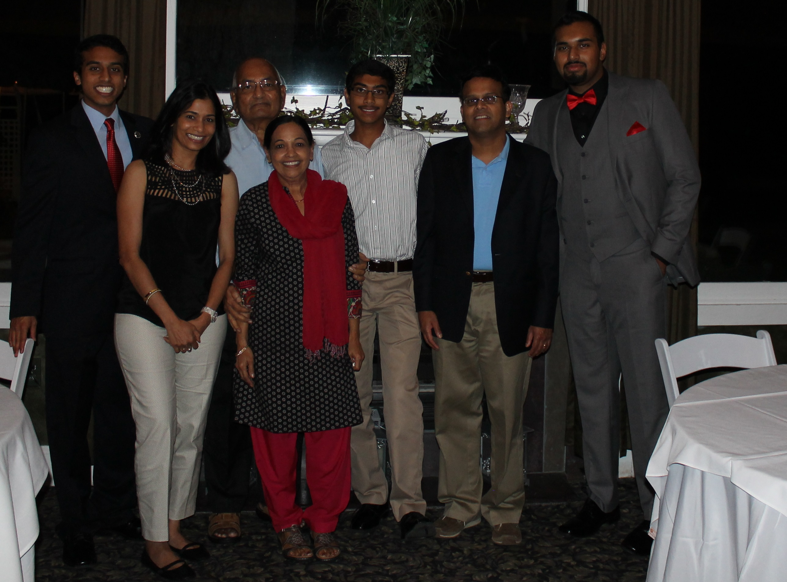 Dr. Menon and the Menon Family