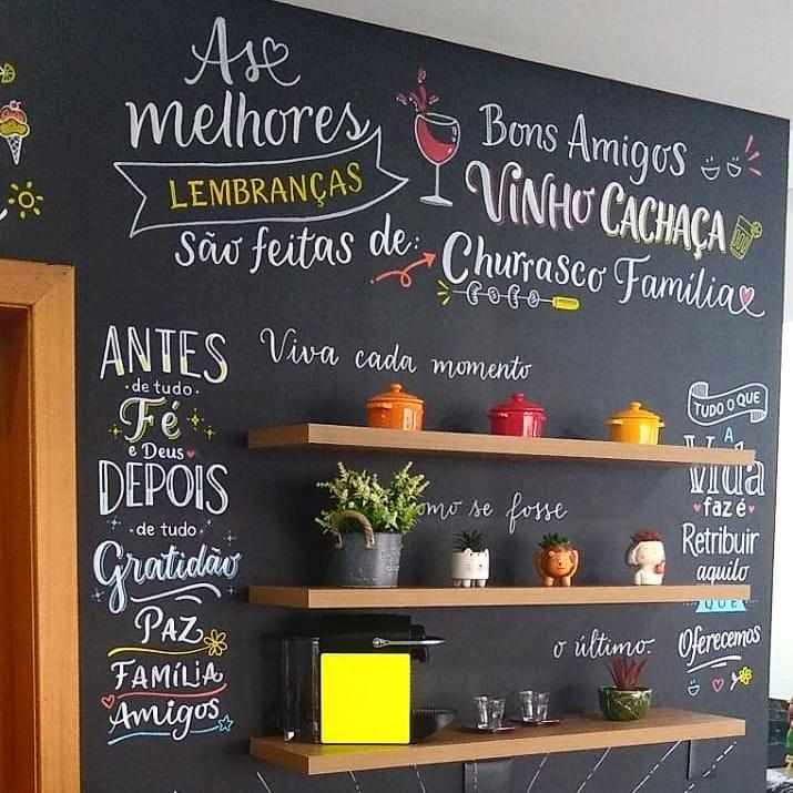 Arte permanente em Cozinha - Dez 2020