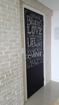 Porta Chalkboard