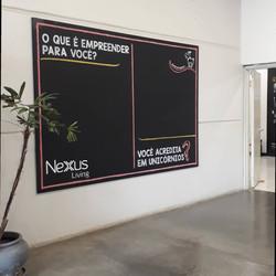 Arte permanente em painel - Nexus Living