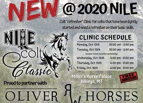 NILE Colt Classic October 12-16, 2020