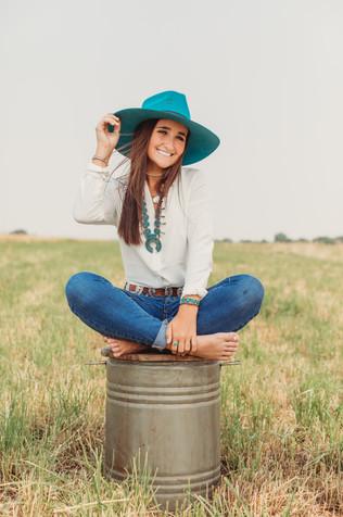 Aspen Wyoming Senior Photo shoot
