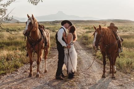 WesternWedding in Wyoming.  Mountain Wedding by heart mountain