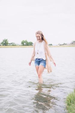 Senior Girl Portraits Wyoming